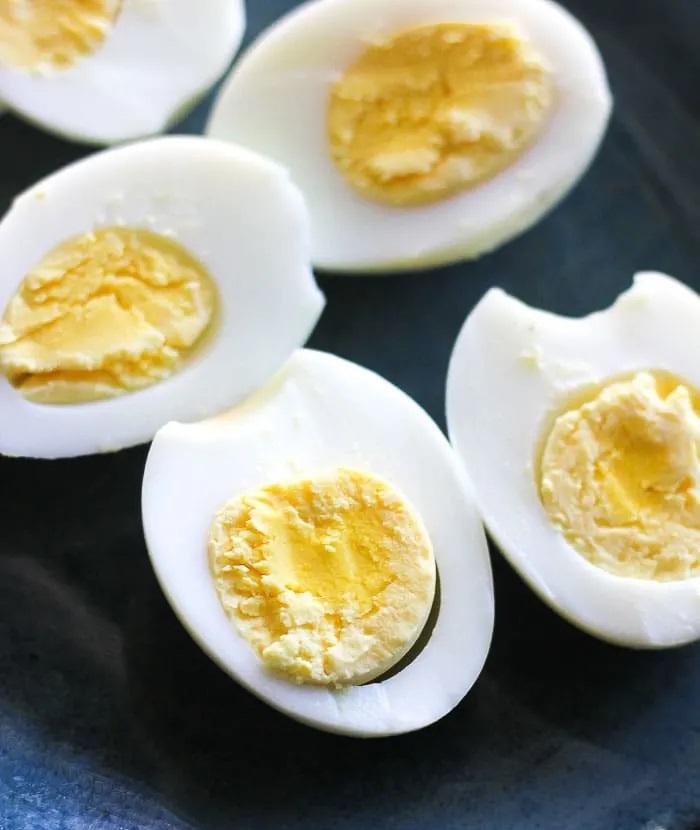 Cocinar Huevos Duros en Freidora de Aire